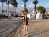 Am Strand vor unserem Hotel