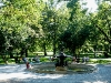 """Vermanes darzs"" : Park vor unserem Hotel"