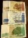 Lettische Geldscheine