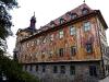 """""""Altes Rathaus"""" an der """"Unteren Brücke""""."""