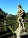 Der Rosengarten in der Neuen Residenz