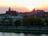 Sonnenuntergang über Kazimierz