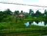 Kleine Dörfer an der Strecke