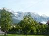 Obsteig, Tirol mit Mieminger Gebirge