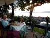 Abendessen in der Trattoria Loncrino ...