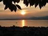 ... mit Sonnenuntergang
