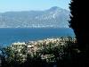 Blick vom Ferienhaus auf Torri del Benaco