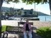 Am Hafen mit Scaliger Burg