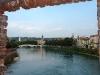 Blick von der Scaligero-Brücke zur Altstadt