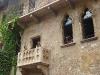 Der berühmte Balkon von Julia