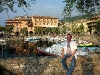 Am Hafen von Torri del Benaco ....