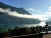 Wolkenschwaden am Morgen