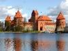Wasserburg Trakai am Galve-See.