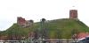 Blick zurück auf den Burgberg