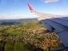 Anflug auf Oslo Airport