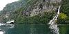 Fahrt auf dem Geiranger Fjord