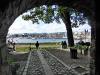Blick auf den Hafen im Oslofjord