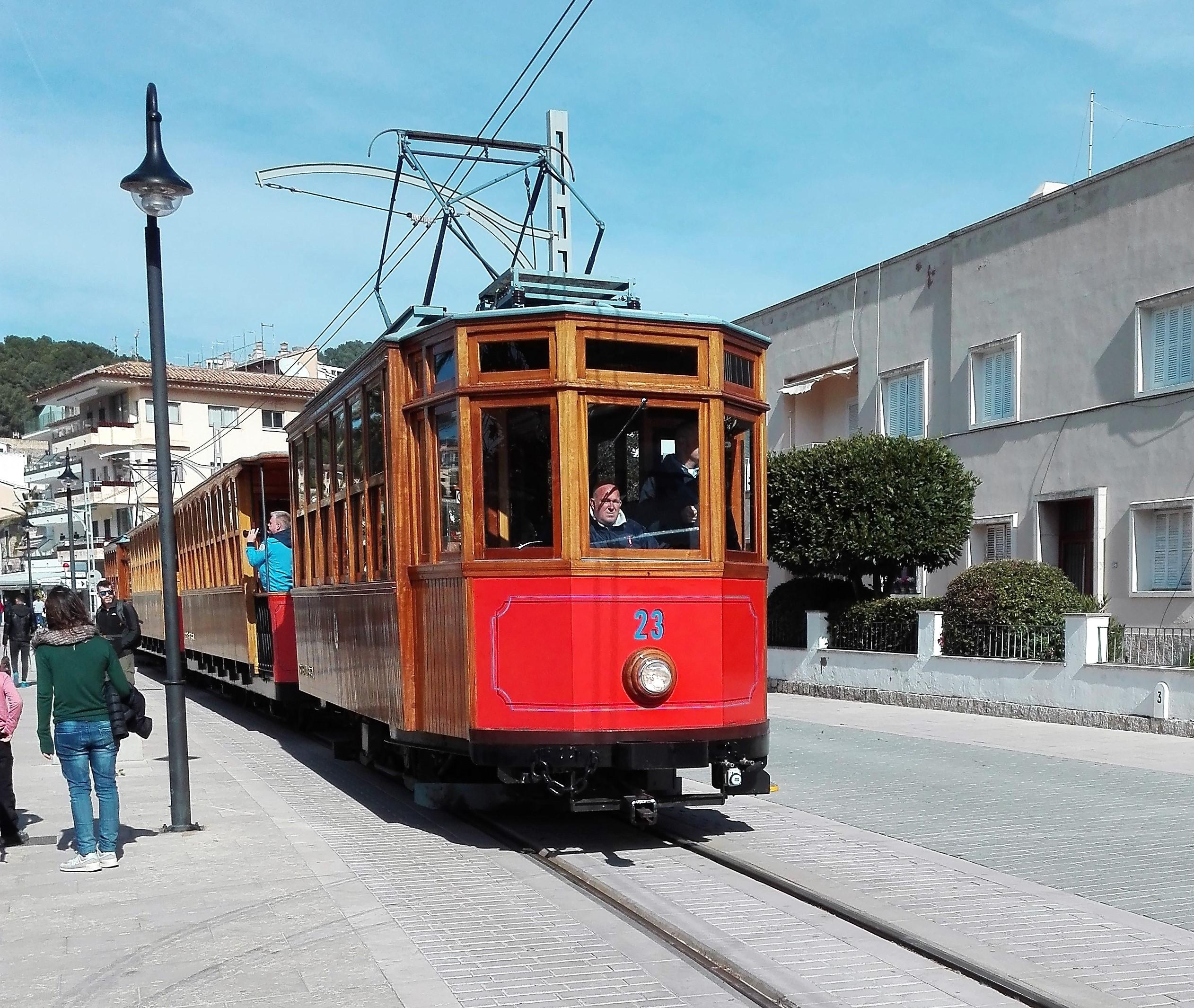 Straßenbahn nach Soller