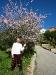 Unterhalb der Kirche in Galilea