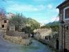Gasse im Dorf Orient
