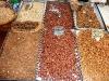 Mandeln und getrocknete Früchte