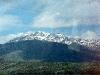 Schnee auf dem Taurus Gebirge