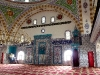 Innenraum mit Gebetsnische