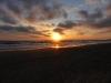 Sonnenuntergang am Starnd