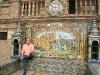 Sevilla: Fliesenmosaik auf der Plaça de España