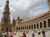 """Sevilla: halbkreisförmiger \""""Plaça de España\"""""""