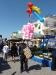 Luftballons und Zuckerwatte