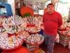 Fischhändler am Lara-Markt