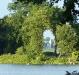 Pfaueninsel mit Schloss vom Marmorpalais
