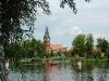 Regattastrecke Werder/Havel mit Maria-Meeresstern-Kirche