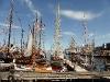 Kleinere Segelschiffe im Hafen