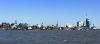 Hafenenpanorama von See her