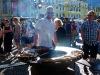 Leckere Bratwurst beim Street-Food-Festival