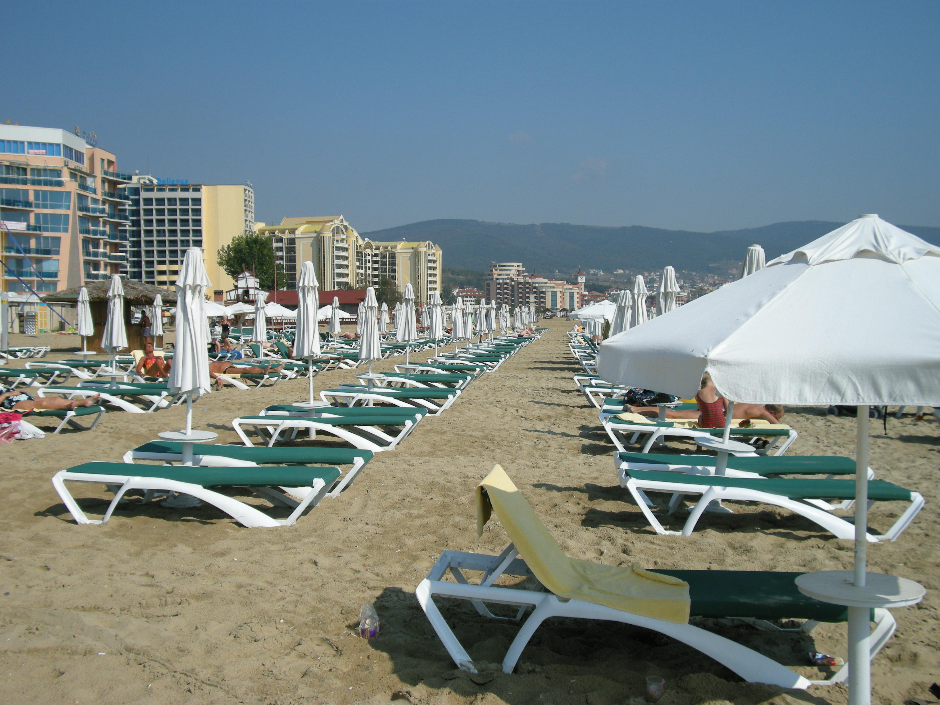 "Strandansicht \""Sunny Beach\"""