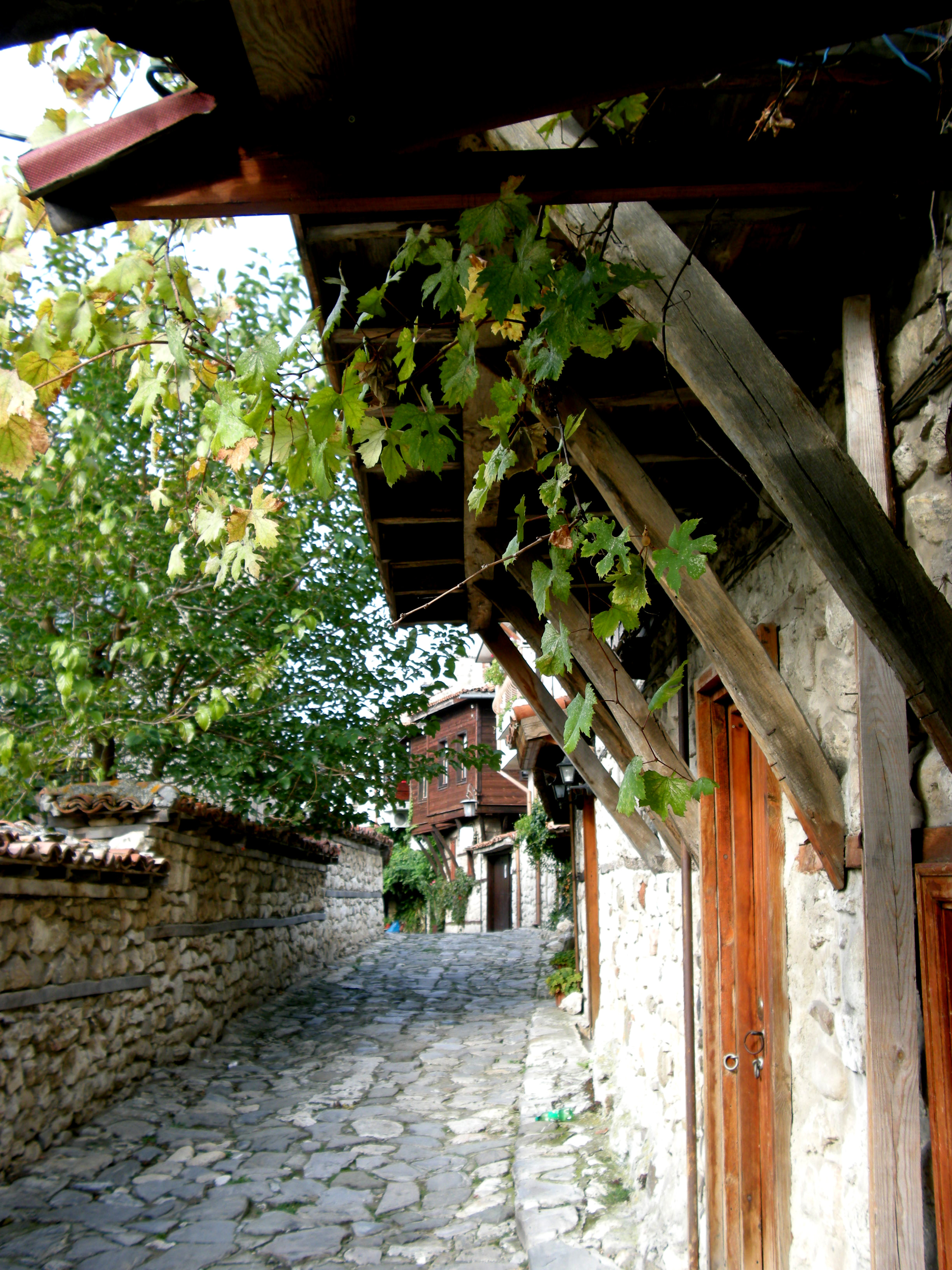Lauschige Gasse in Nessebar