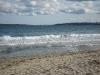 Am Strand mit Blick auf Nessebar