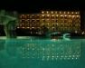 Nachtbeleuchtung im Hotel