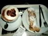 Cappuccino mit Chocolate Twister