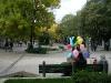 Auf dem Boulevard in Varna
