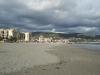 Letzter Blick zurück zum Strand