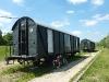 """Eisenbahnwaggon als \""""Hotelzimmer\"""""""