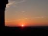 Sonnenuntergang auf dem Aussichtsturm