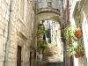 Schmale Stiege in der Altstadt