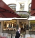 """Vor dem Café """"Cron&Lanz"""""""