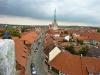 Über den Dächern von Mühlhausen mit Marienkirche