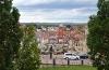 Blick vom Schloss auf die Stadt